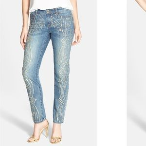 Michael Kors sexy Boyfriend studded jeans